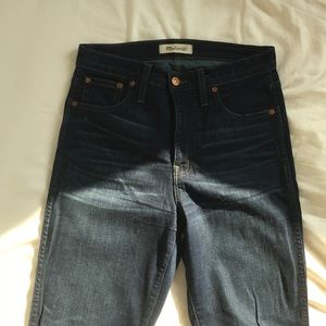 Madewell 10 inch high rise jeans